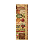 Reminisce - Signature Series Collection - Cardstock Stickers - Combo - Apple Orchard
