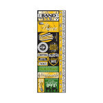 Reminisce - Signature Series Collection - Cardstock Stickers - Combo - Band