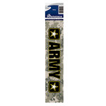 Reminisce - Cardstock Stickers - Signature Title - Army