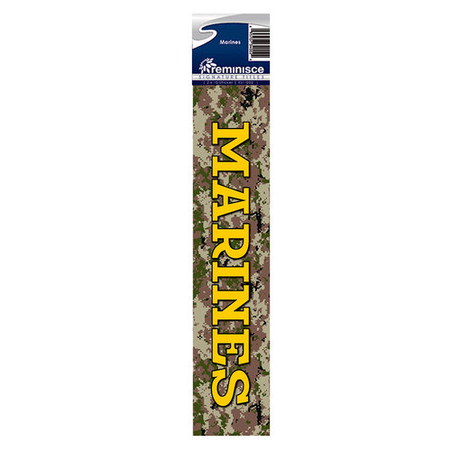 Reminisce - Cardstock Stickers - Signature Title - Marines