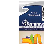 Reminisce - Cardstock Stickers - Signature Title - At the Playground