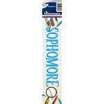 Reminisce - Cardstock Stickers - Signature Title - Sophomore