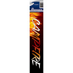 Reminisce - Cardstock Stickers - Signature Title - Campfire