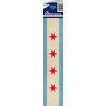 Reminisce - Cardstock Stickers - Signature Title - Chicago Flag