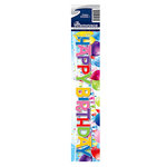 Reminisce - Cardstock Stickers - Signature Title - Happy Birthday