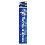 Reminisce - Cardstock Stickers - Signature Title - Paw Prints on My Heart