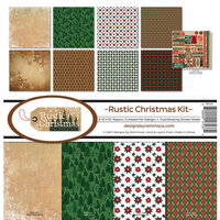 Reminisce - Rustic Christmas Collection - 12 x 12 Collection Kit