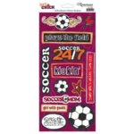Reminisce - Sports Chick - Cardstock Stickers - Soccer