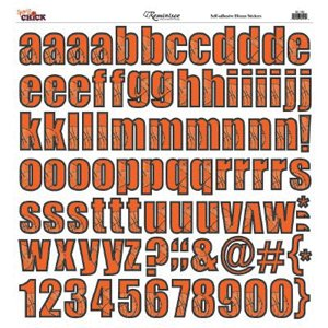 Reminisce - Sports Chick - 12x12 Sticker - Alphabet - Basketball