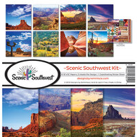 Reminisce - Scenic Southwest Collection - 12 x 12 Collection Kit