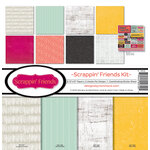 Reminisce - Scrappin' Friends Collection - 12 x 12 Collection Kit