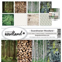 Ella and Viv Paper Company - Scandinavian Woodland Collection - 12 x 12 Collection Kit