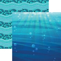 Reminisce - Sea Life Collection - 12 x 12 Double Sided Paper - Sea Life