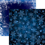 Reminisce - Snowflake Ridge Collection - 12 x 12 Double Sided Paper - Let It Snow