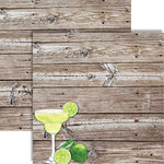 Reminisce - The Shipwreck Club Collection - 12 x 12 Double Sided Paper - Margarita Party