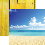 Reminisce - The Shipwreck Club Collection - 12 x 12 Double Sided Paper - Sun and Sand