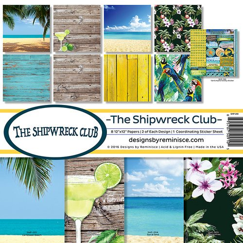 Reminisce - The Shipwreck Club Collection - Page Kit