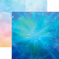Reminisce - Skyscape Collection - 12 x 12 Double Sided Paper - Imagination