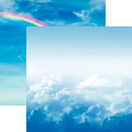 Reminisce - Skyscape Collection - 12 x 12 Double Sided Paper - Above the Clouds