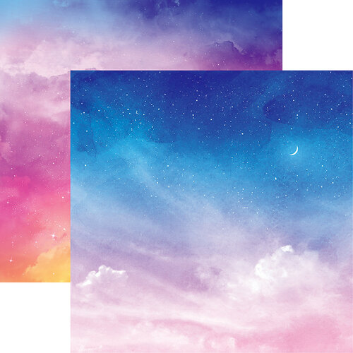 Reminisce - Skyscape Collection - 12 x 12 Double Sided Paper - Dreamscape
