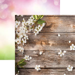 Reminisce - Signs of Spring Collection - 12 x 12 Double Sided Paper - Springtime