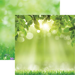Reminisce - Signs of Spring Collection - 12 x 12 Double Sided Paper - Hello Sunshine