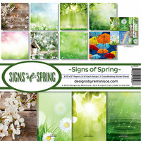 Reminisce - Signs of Spring Collection - Page Kit