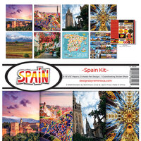 Reminisce - Spain Collection - Collection Kit