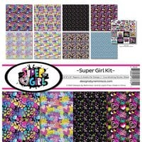 Reminisce - Super Girl Collection - 12 x 12 Collection Kit