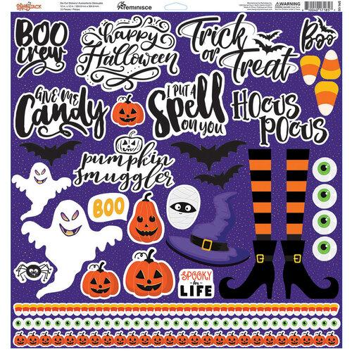 Reminisce - 12 x 12 Cardstock Stickers - Spooky Jack
