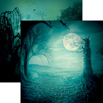 Reminisce - Spooky Night Collection - Halloween - 12 x 12 Double Sided Paper - Spooky Night