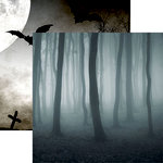 Reminisce - Spooky Night Collection - Halloween - 12 x 12 Double Sided Paper - Spooky Forest