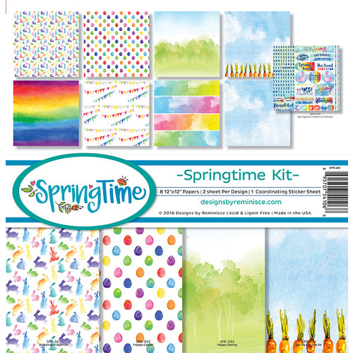 Reminisce - Springtime Collection - 12 x 12 Collection Kit