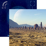 Reminisce - Space Wars 2 Collection - 12 x 12 Double Sided Paper - The Colony