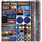 Reminisce - Space Wars Collection - 12 x 12 Cardstock Stickers - Multi