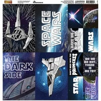Reminisce - Space Wars 2 Collection - 12 x 12 Cardstock Stickers - Poster