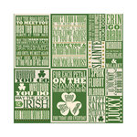 Reminisce - Shamrock Collection - 12 x 12 Cardstock Stickers - ShamRock