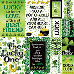 Reminisce - Shamrock Shake Collection - 12 x 12 Cardstock Stickers