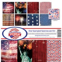 Reminisce - Star Spangled Spectacular Collection - 12 x 12 Collection Kit