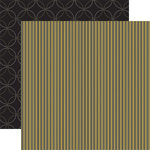 Reminisce - Stripestock Collection - Cardstock Double Sided Patterned Paper - Dave, CLEARANCE