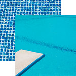 Reminisce - Swim Team Collection - 12 x 12 Double Sided Paper - Spring Board
