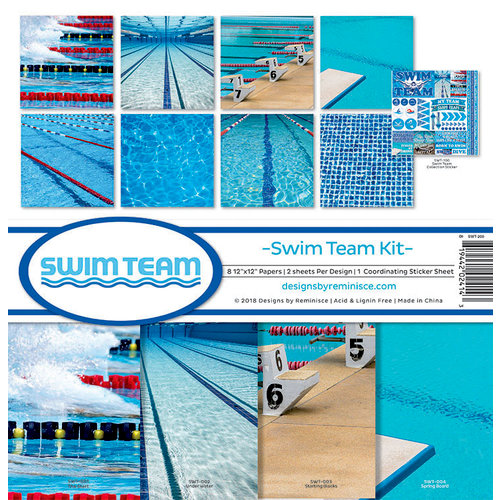 Reminisce - Swim Team Collection - 12 x 12 Collection Kit