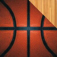 Reminisce - The Basketball Collection - 12 x 12 Double Sided Paper - Basketball Close-Up