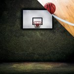 Reminisce - The Basketball Collection - 12 x 12 Double Sided Paper - Hoops