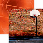 Reminisce - Basketball 2 Collection - 12 x 12 Double Sided Paper - Streetball