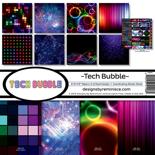 Reminisce - Tech Bubble Collection - Page Kit