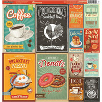 Reminisce - The Breakfast Club Collection - 12 x 12 Cardstock Stickers - Combo
