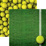 Reminisce - Tennis Collection - 12 x 12 Double Sided Paper - Tennis