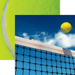Reminisce - Tennis Collection - 12 x 12 Double Sided Paper - Ace