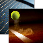 Reminisce - Tennis Collection - 12 x 12 Double Sided Paper - Winner